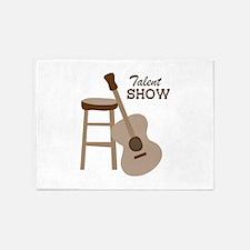 Talent Show 5'x7'Area Rug
