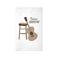 Talent Show Area Rug