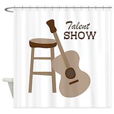 Talent Show Shower Curtain