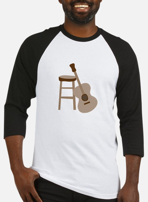 Guitar and Stool Baseball Jersey
