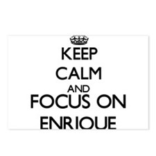 Keep Calm and Focus on En Postcards (Package of 8)