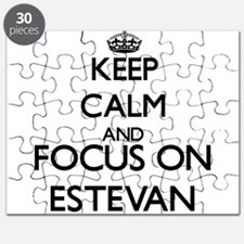 Keep Calm and Focus on Estevan Puzzle