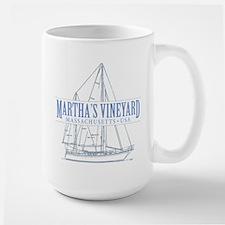 Martha's Vineyard - Large Mug
