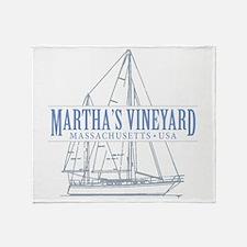 Martha's Vineyard - Throw Blanket