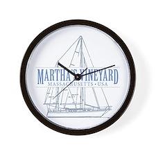 Martha's Vineyard - Wall Clock