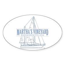 Martha's Vineyard - Decal