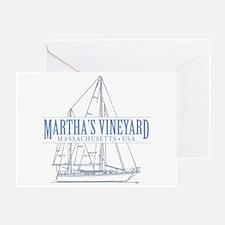 Martha's Vineyard - Greeting Card