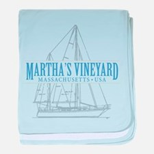 Martha's Vineyard - baby blanket