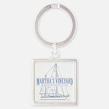 Martha's Vineyard - Square Keychain