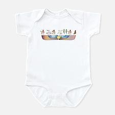 Mau Hieroglyphs Infant Bodysuit