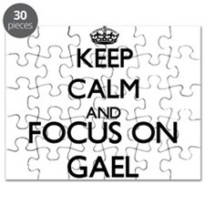 Keep Calm and Focus on Gael Puzzle