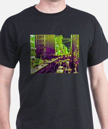 Dallas, Downtown-1950's T-Shirt