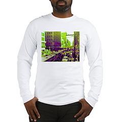 Dallas, Downtown-1950's Long Sleeve T-Shirt