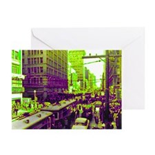Dallas, Downtown-1950's Greeting Cards (Package of