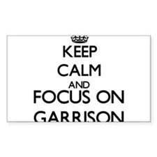 Keep Calm and Focus on Garrison Decal