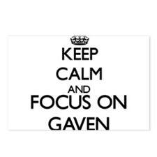 Keep Calm and Focus on Ga Postcards (Package of 8)