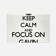 Keep Calm and Focus on Gavin Magnets