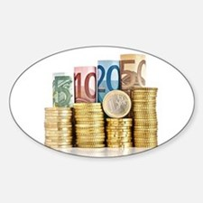 euro currency Decal