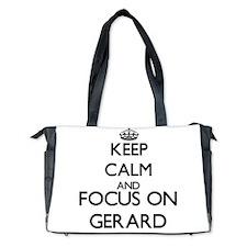 Keep Calm and Focus on Gerard Diaper Bag