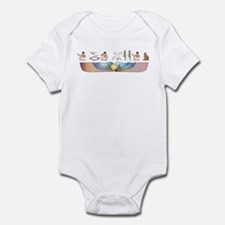 Shorthair Hieroglyphs Infant Bodysuit
