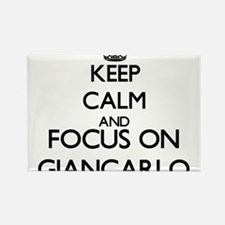 Keep Calm and Focus on Giancarlo Magnets