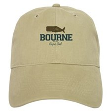 Bourne - Baseball Cape Cod. Baseball Cap