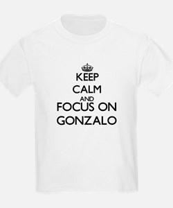 Keep Calm and Focus on Gonzalo T-Shirt