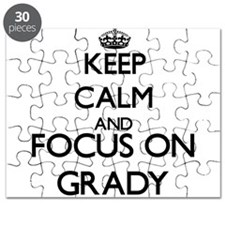 Keep Calm and Focus on Grady Puzzle