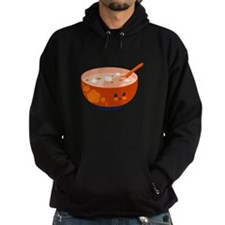 Bowl with Face Hoodie