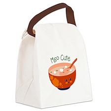 Miso Cute Canvas Lunch Bag