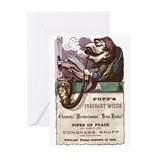 vint-adv-pipe Greeting Cards
