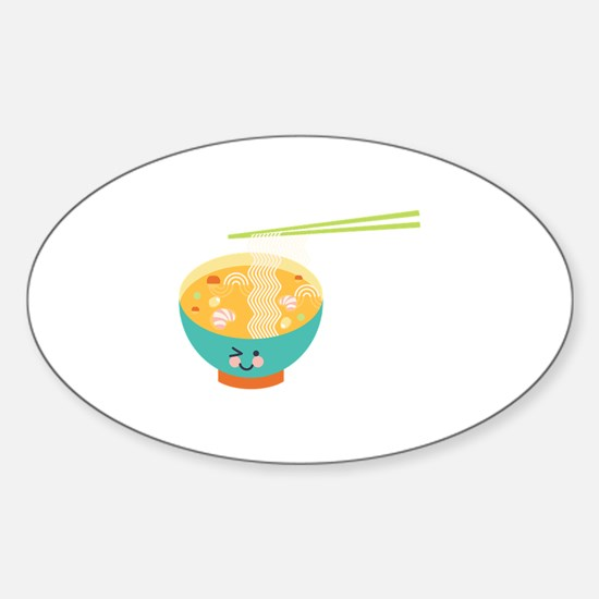 Winking Bowl Decal
