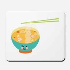 Winking Bowl Mousepad