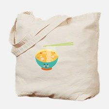 Winking Bowl Tote Bag