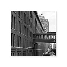 """Walkway in the Sky Square Sticker 3"""" x 3"""""""