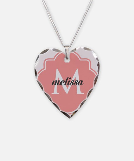 Light Pink Custom Personalize Necklace