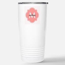 Light Pink Custom Perso Stainless Steel Travel Mug