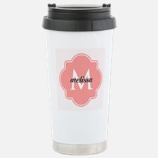 Light Pink Custom Perso Travel Mug