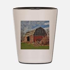 Old Barn 1 Shot Glass