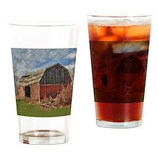 Old Barn 1 Drinking Glass