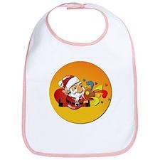Christmas Santa Claus Bib