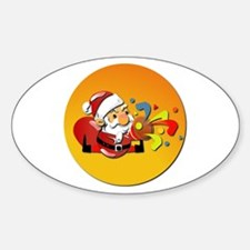 Christmas Santa Claus Decal