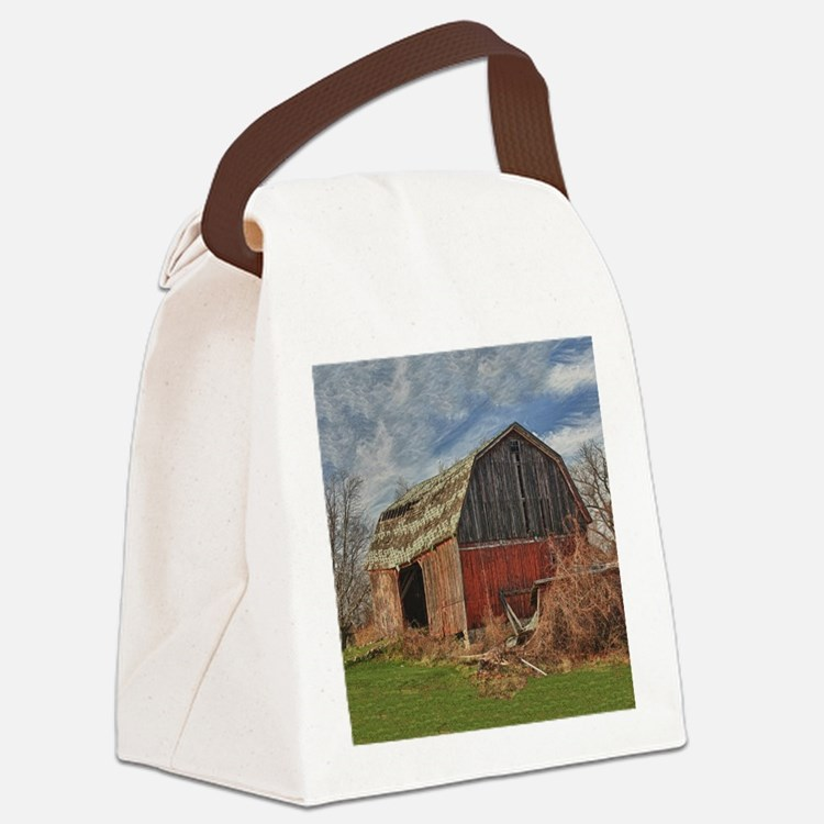 Old Barn 1 Canvas Lunch Bag