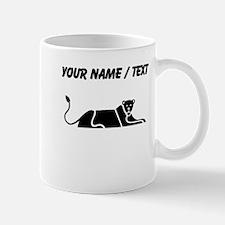 Panther Silhouette (Custom) Mugs