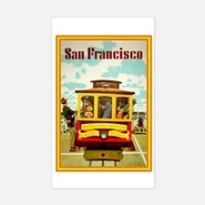 San Francisco Rectangle Decal