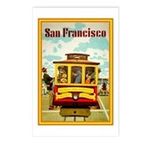 San francisco california souvenir Postcards