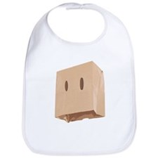 Paper Bag Mask Brown bag Bib