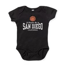 Cute I love san diego Baby Bodysuit