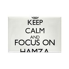 Keep Calm and Focus on Hamza Magnets