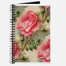 Pretty Pink Roses Journal